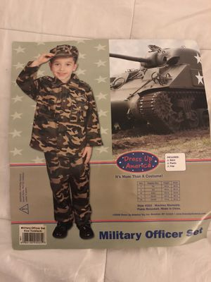 Army Military Halloween costume size 4 for Sale in Portland, OR