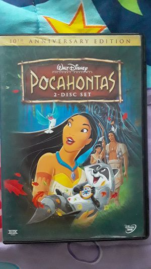 pocahontas dvd for Sale in San Diego, CA