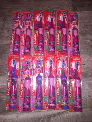 Powered toothbrush for kids trolls collection $3.50 each for Sale in Columbus, OH