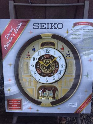 Seiko musical and motion clock for Sale in Millsboro, DE