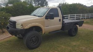 2005 Ford F250 SuperDuty diesel 4x4 TRADE FOR LARGE ENCLOSED TRAILER OR TOYHAULER for Sale in Queen Creek, AZ