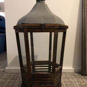 Decorative Wooden Lantern for Sale in Cambridge, MA