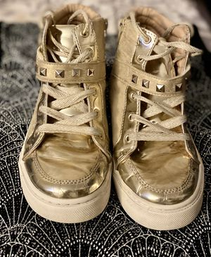 Children Place Rock Star golden boots for girls for Sale in SUNNY ISL BCH, FL
