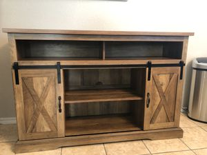 """55"""" TV CONSOLE for Sale in Richmond, TX"""