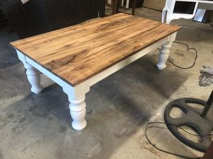 Broyhill coffee table and 2 end tables with custom tops for Sale in Calera, AL