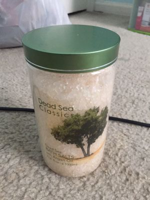 Dead Sea classic bath salts for Sale in Centreville, VA