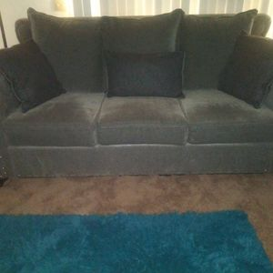 Grey Studded Sofa for Sale in Fresno, CA
