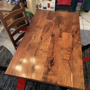 REDUCED $4K to $3700! Custom, Solid Mesquite Wood Desk & Chair for Sale in Phoenix, AZ