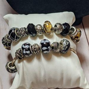 Two Glass Charm Bracelets for Sale in Miami, FL