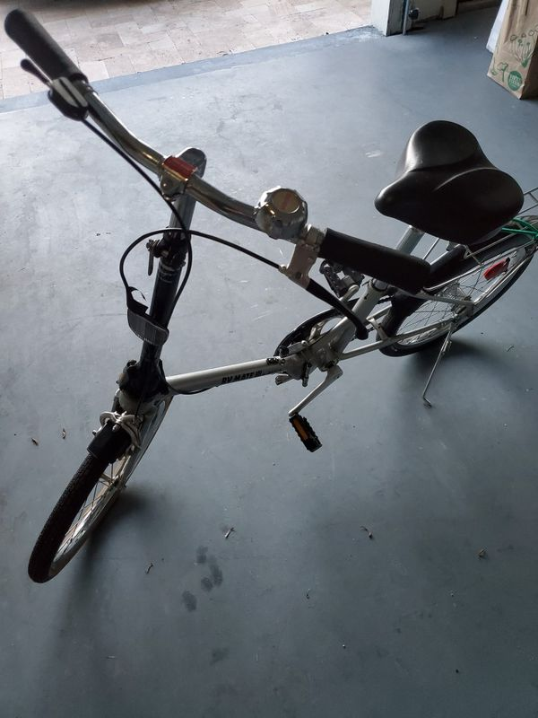 Two Dahon rv mate folding bikes