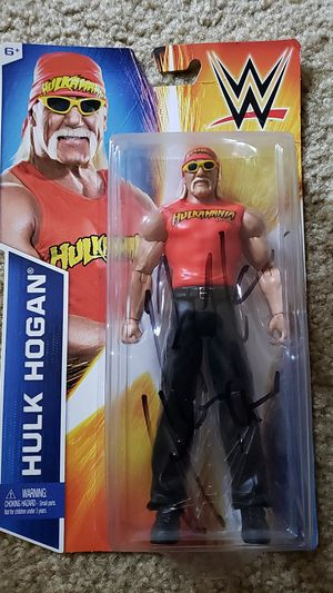 Signed and still in box Hulk Hogan action figure for Sale in San Diego, CA
