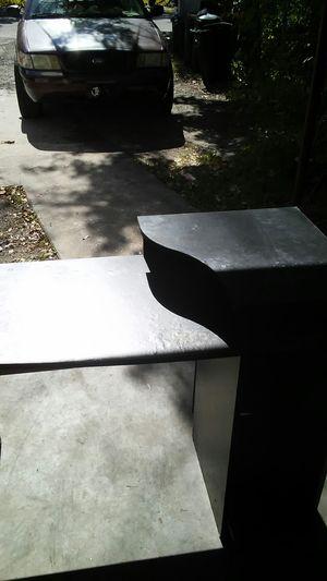 Black computer desk for Sale in Jacksonville, FL