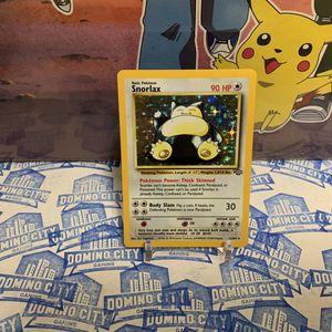 Snorlax Jungle 11/64 Pokemon Trading Card Game for Sale in Pomona, CA