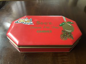 Vintage See's Famous Old Time Candies Tin Box made in England for Sale in Spring Valley, CA