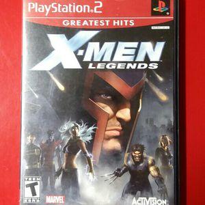 PS2 X-Men Legends *complete for Sale in Henderson, NV
