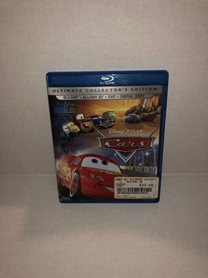 Disney's Pixar Cars 3D (2013, Blu-Ray + 3D Blu Ray + DVD, Ultimate Edition) for Sale in Miami, FL
