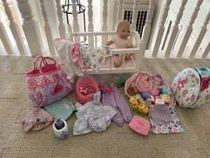 American girl Bitty Baby gift set for Sale in Chula Vista, CA