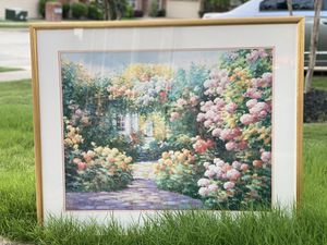 Wall painting with Golden Frame for Sale in Wylie, TX