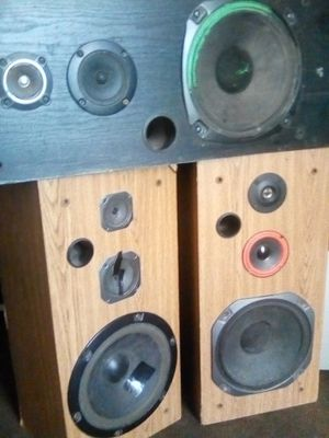 Pioneer speakers with RCA stereo reciever for Sale in Bakersfield, CA