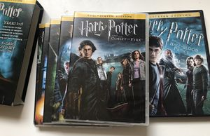 Harry Potter 1-6 DVD Movies for Sale in Peachtree Corners, GA