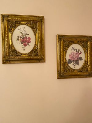 2 Small Floral Themed Prints for Sale in Brooklyn, NY
