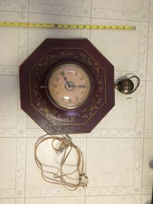 Antique electric clock for Sale in Branford, CT