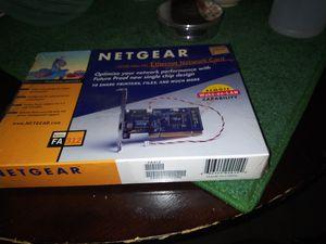 Netgear Ethernet NETWORK CARD for Sale in Manassas, VA