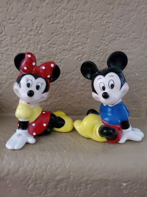 Disney Mickey and minnie mouse figurines for Sale in Stockton, CA