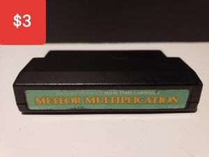 Texas instruments Computer Game Meteor Multiplication for Sale in Reinholds, PA