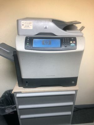 HP LaserJet 4345 MFP very good working network printer for Sale in Palos Park, IL