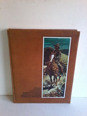 FRANK TENNEY JOHNSON'S WESTERN PAINTINGS By Harold McCracken Limited Edition Book for Sale in Las Vegas, NV
