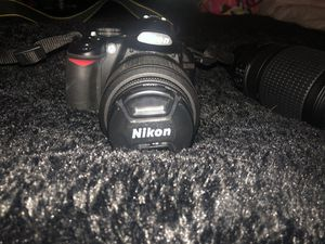 Nikon Camera with 55mm and 300mm lens for Sale in Richmond, CA