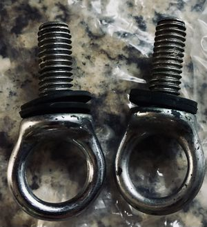 Set of Two Stainless Steel Rope Eyelets for a Swimming Pool Rope! for Sale in Mt. Juliet, TN