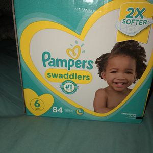 Size 6 Pampers Swaddlers for Sale in Philadelphia, PA