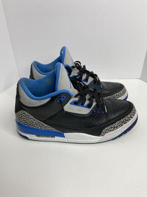 Nike Air Jordan 3 Retro Sport Blue for Sale in Las Vegas, NV