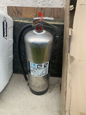Water fire extinguisher for Sale in Lakewood, CA