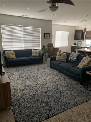2 Full Size Sofas American Made for Sale in Bakersfield, CA