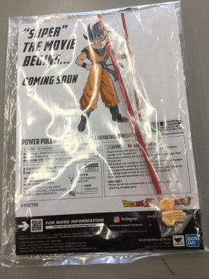Dragonball Z / DBZ Power Pole and Hands by S.H.Figuarts *NEW* for Sale in Kent, WA