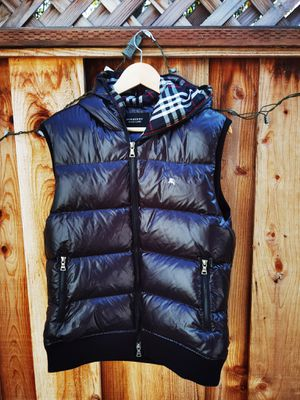 burberry black laber jacket size L for Sale in San Leandro, CA