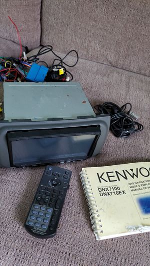 Kenwood car stereo deck with navigation for Sale in Port St. Lucie, FL