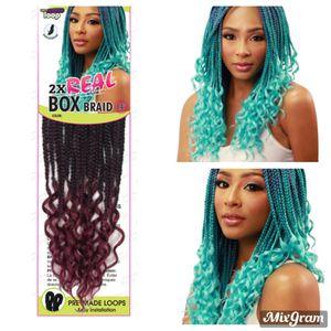 "Urban Beauty 2x Real Box Braid Curl 14"" for Sale in CANTON, MI"