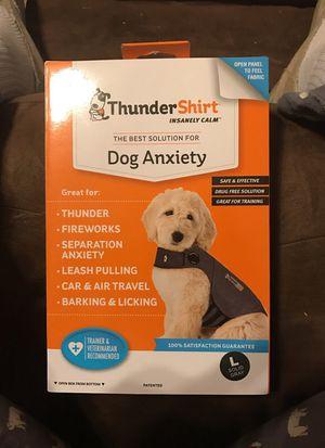 Thunder shirt for dog for Sale in Cardington, OH