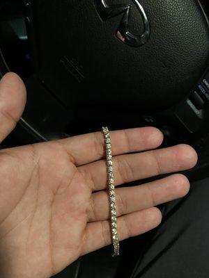 14k tennis bracelet (REAL GOLD) for Sale in Los Angeles, CA