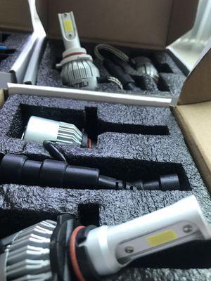 Car led headlights kit leds kits are super bright lights for Sale in San Bernardino, CA
