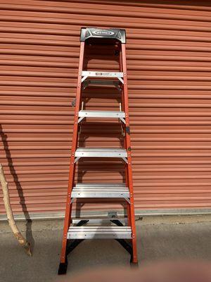 Werner 6' Fiberglass Ladder for Sale in Lakeside, CA