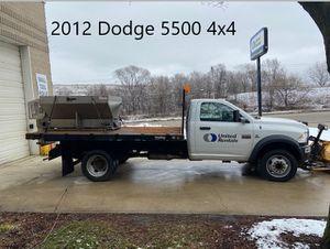 2012 Dodge 5500 - Plow Truck for Sale in Wheaton, IL