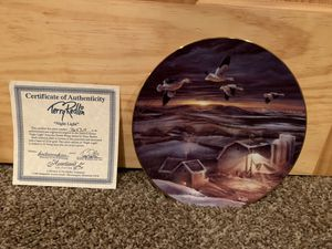 Terry Redlin plate - Night Light for Sale in Saint Michael, MN
