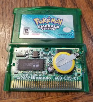 Original Pokemon Emerald Collector Condition Fully Restored New Battery for Sale in Yucaipa, CA