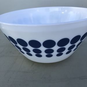 Pyrex inspired vintage charm blue dot bowl for Sale in Buena Park, CA
