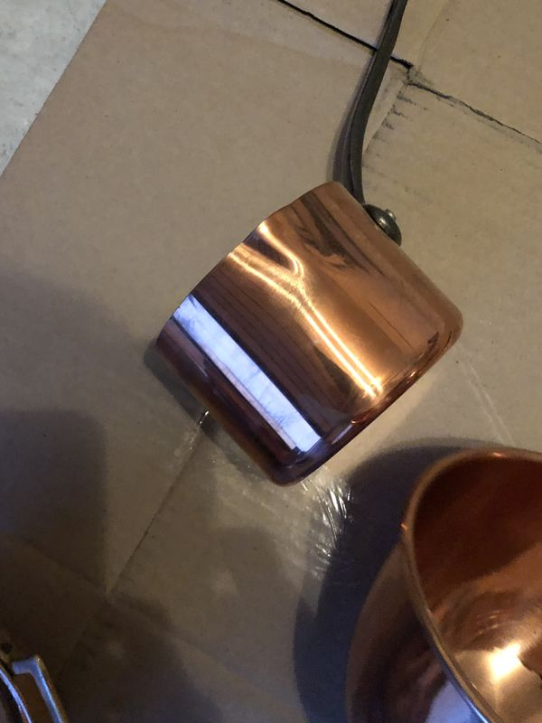 Pottery Barn Pot Rack/Copper Pots